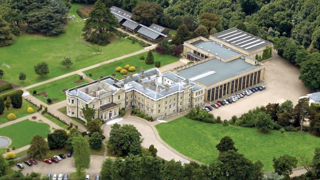 Aerial view of London School, ACS Hillingdon