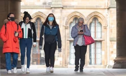 university social distancing
